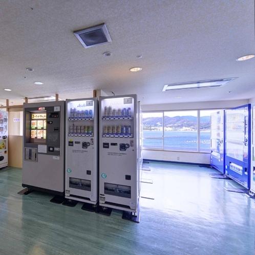 *【3階自動販売機コーナー】ビール、焼おにぎり、やきそば、カップラーメンなど揃っております
