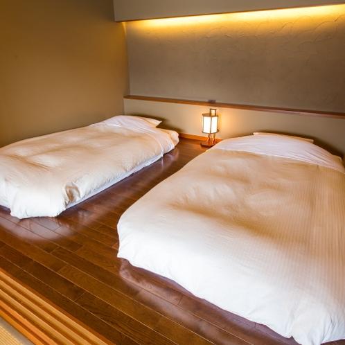 【ベッド】半露天風呂付悠々庵(500×500)