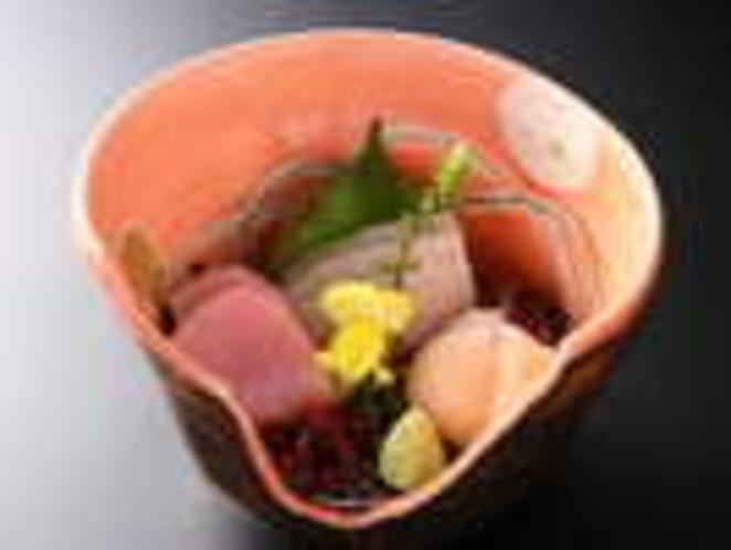 旬のお造り(料理一例)