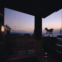 海風 夕景