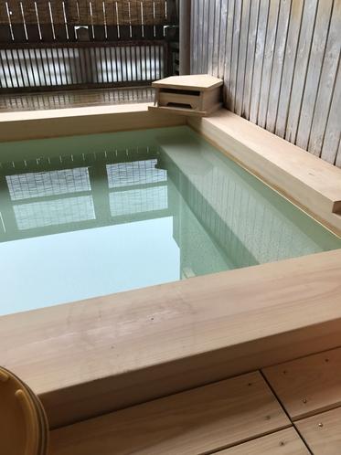 2017 女性展望露天風呂 湯船かまち 新調致しました。