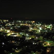 海側の最高層18階からの夜景をひとり占め☆津市内を一望できます♪