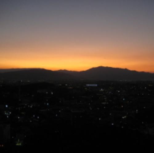 山側お部屋からは、夕日が沈む絶景が楽しめます♪