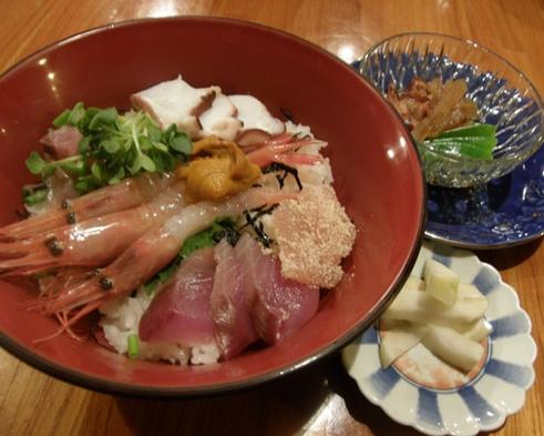 期間限定!一日限定6名様!海鮮丼&小鍋、一泊2食付き7700円!海鮮丼大好きプラン