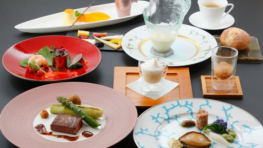 ■夕食イメージ 創作フレンチ