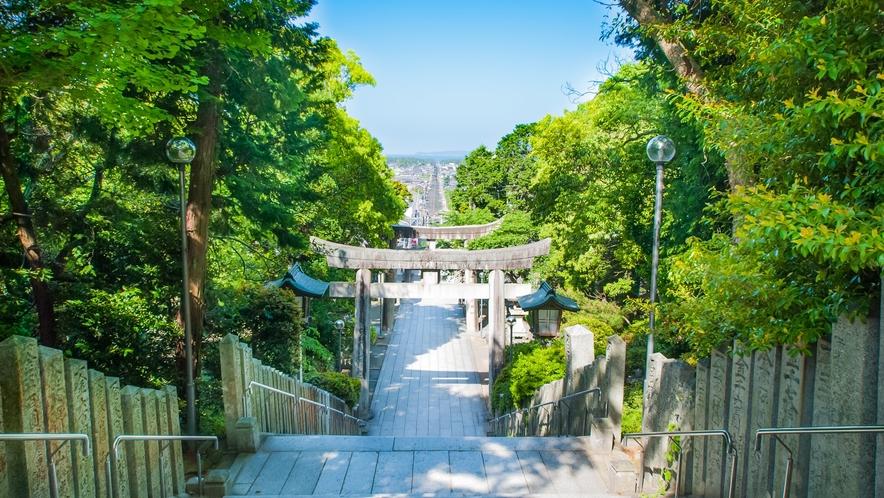 宮地嶽神社/参道