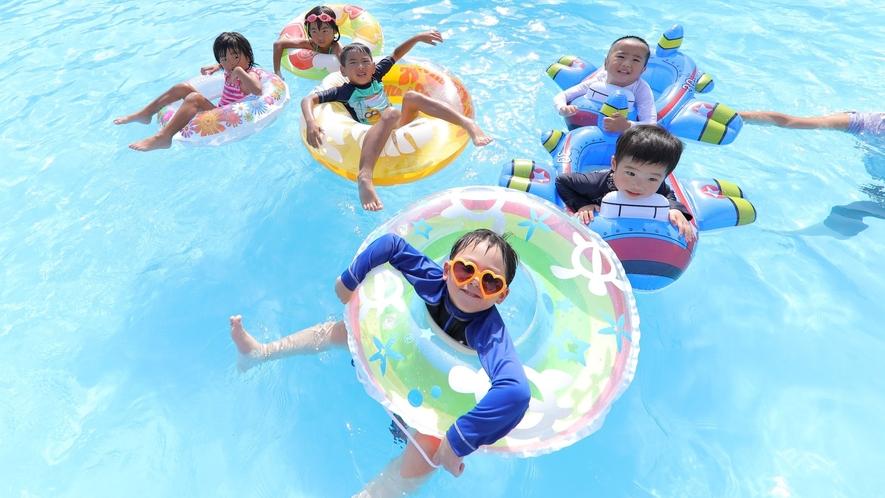 【夏季限定】ガーデンプール