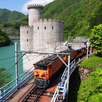 黒部峡谷トロッコ列車(春夏)