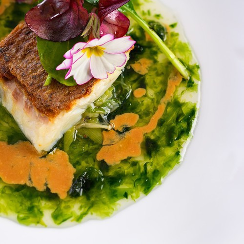 料理長のこだわりの逸品が揃うフランス料理をお楽しみに(※写真はイメージです。)