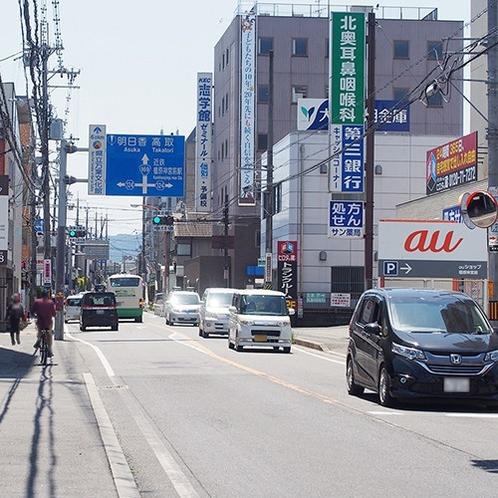 【車でのアクセス①】