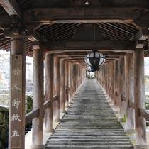 総本山「長谷寺」回廊(※写真はイメージです。)