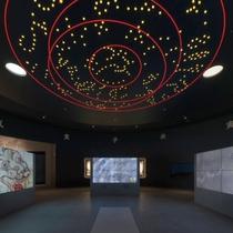国営飛鳥歴史公園キトラ古墳周辺地区内にある体感型施設「四神の館」イメージ