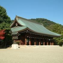 初詣でも毎年約90万人が参拝される「橿原神宮」