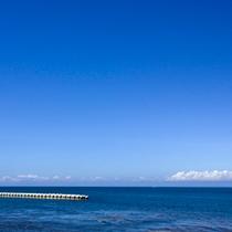 【内浦湾】青い海、青い空をジックリ眺める幸せ