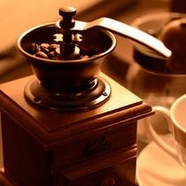 SUITE ROOMのコーヒーセット