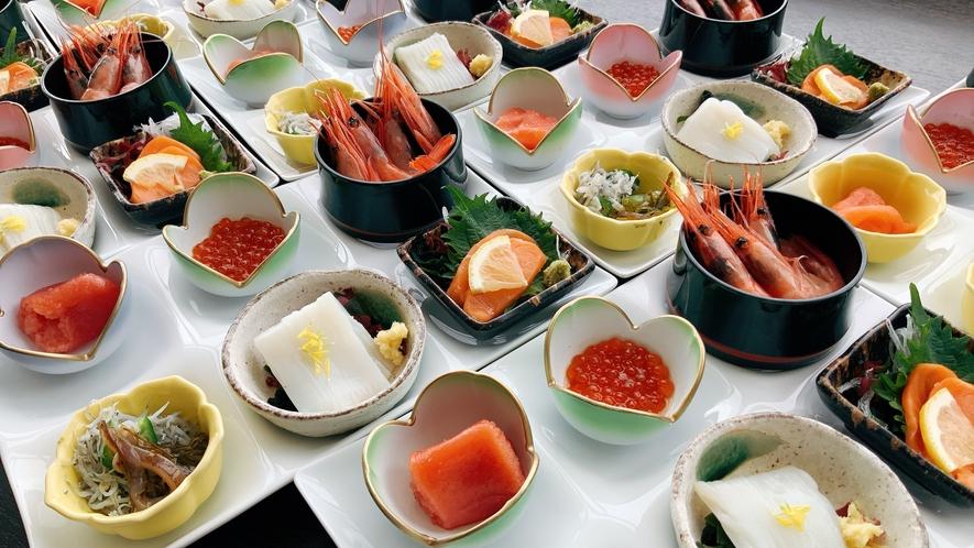 【朝食】個々盛り膳(イメージ)