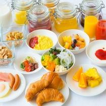 【朝食】しかべの朝ごはんバイキング