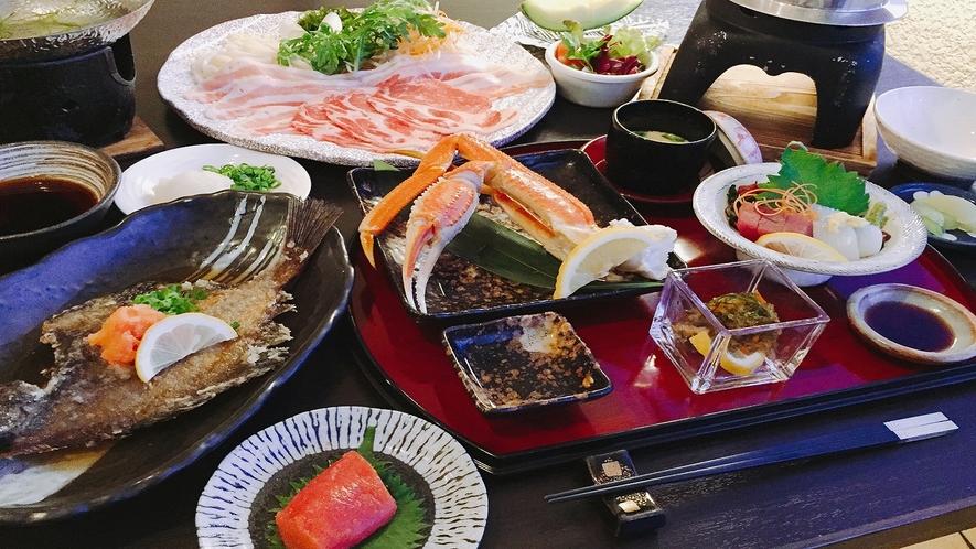 【夕食】篝火(かがりび)コース