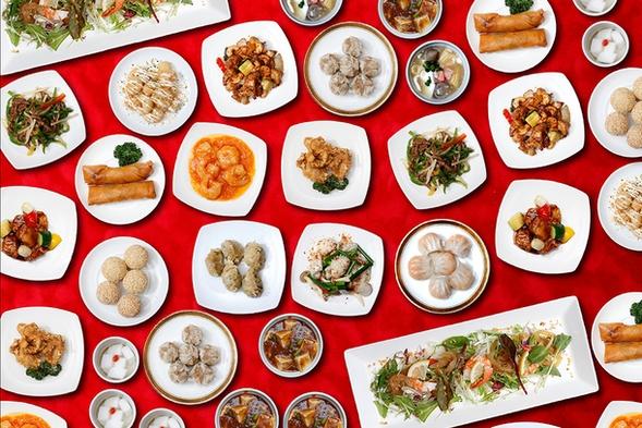 ◆【食べ放題】中国料理『ふかひれ姿煮とオーダーバイキング』えらべるお土産付/夕朝食付