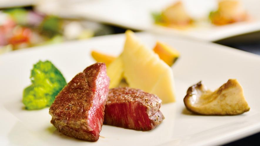 フランス料理「黒毛和牛コース」