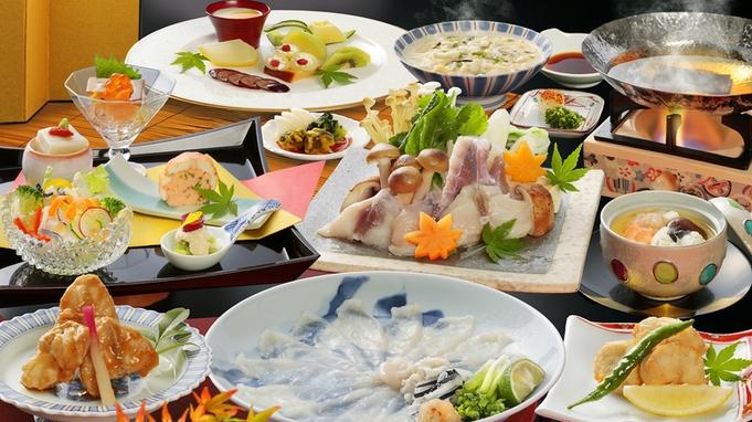 【日本料理】冬だけじゃない!初夏から楽しむ10種のふぐ尽くし会席