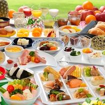 [朝食バイキング]定番メニューから長野の郷土料理まで♪(イメージ)