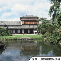 【真田邸】真田幸教が義母・貞松院の住まいとして建てました。ホテルから徒歩約20分です。