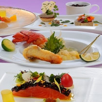 [松茸プラン]トリュフとフォアグラを添えたフレンチコース(イメージ)