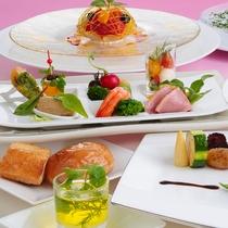 [フランス料理]お箸で食べる洋風会席(イメージ)