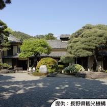 【豪商の館 田中本家博物館】江戸時代の豪商の館を利用した博物館です。ホテルから車約40分です。
