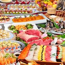 [ディナーバイキング]みんなでお腹いっぱい食べよう♪(イメージ)