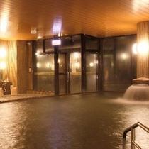 【温泉大浴場】広い湯舟で心まであたたまる