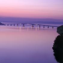 【能登島大橋】七尾湾にかかる石川県で最長の橋 ※お車で約40分
