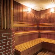 【サウナ】大浴場に併設しています♪