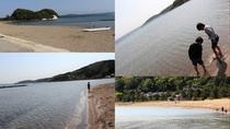 [観光]能登島マリンパーク海水浴場(車で約32分)七尾南湾に面しているので、波がとても穏やか‥‥*