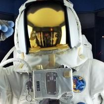 【コスモアイル】月面では地球の重力の6分の1なので...
