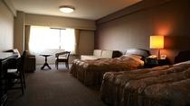 客室(洋室の一例)広さ36平米のスタンダードルームで全室WiFi無料接続サービス利用可*