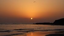 [観光]大島海岸(車で約10分)夕日*