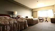 客室(洋室の一例)リゾートホテルならではの広々とした36平米のお部屋は定員4名様*