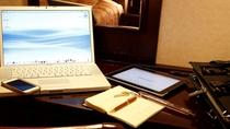 客室(イメージ)全室WiFi無料接続サービス利用可、パスワードはフロントにてご案内*