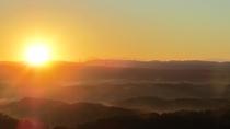 [施設]屋上からの眺め(朝陽)*