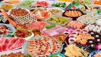 夕食バイキング(写真はイメージです)お刺身・寿司・能登ふぐ・のどぐろ・ぶり・大漁鍋など*