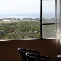 客室(眺めの一例)日本海
