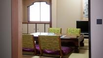 客室(和洋ロイヤルスイート)8階フロアにあるオーシャンビューで独立した和室も*