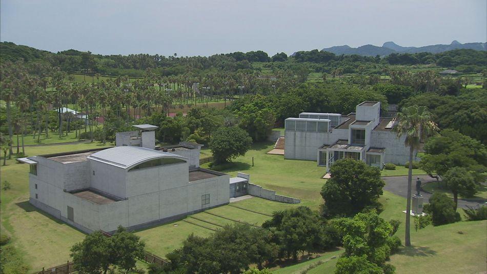 庭園内にある『岩崎美術館』