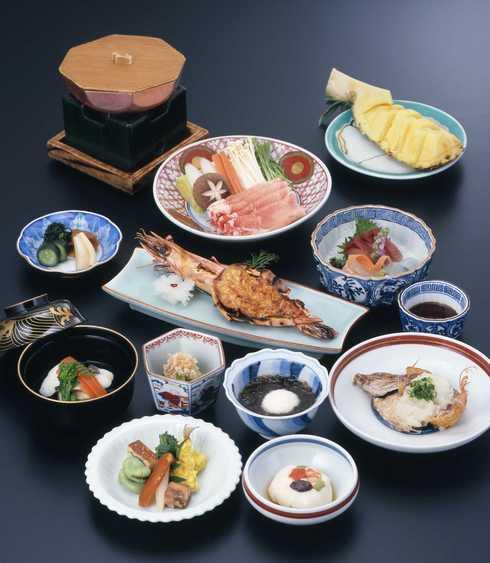 地元の食材を使った和食会席(写真はイメージです)