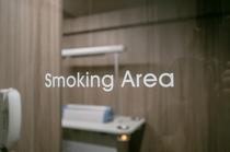 @喫煙ブース