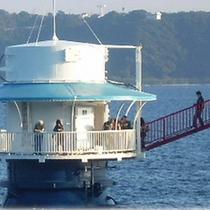 【串本海中公園】海中展望塔(すなみ南ICより車約30分になります)
