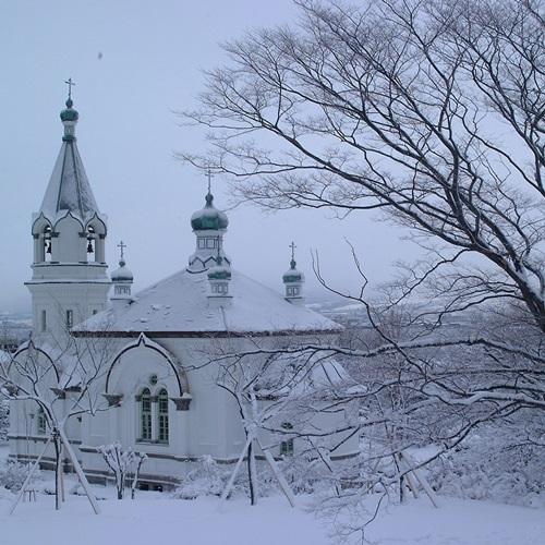ハリストス教会(冬)