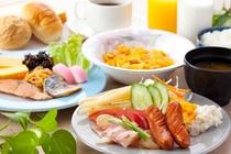 美味しい朝食で 元気に ご出発!